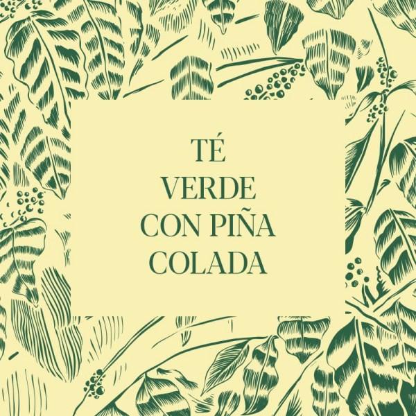 Té Verde con Piña Colada