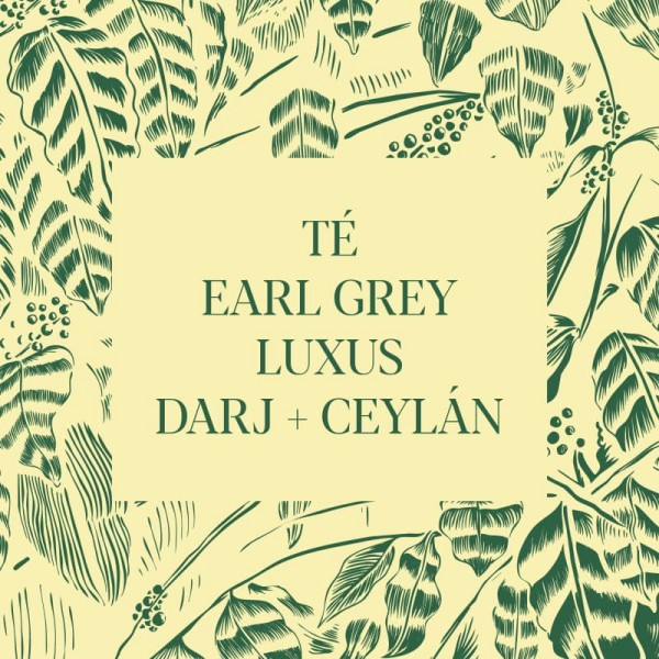 Té Earl Grey Luxus (Darj+Ceylán)