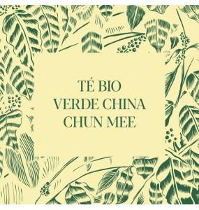 Té Bio verde China Chun Mee