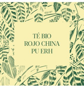 Té Bio rojo China Pu Erh
