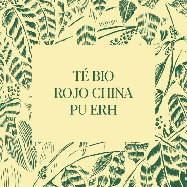 Té Bio rojo China Pu Erh